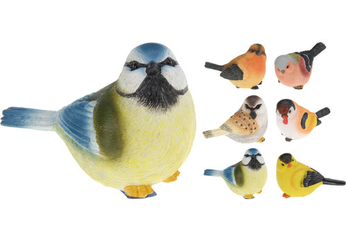 Bird Polystone Assorted 5""