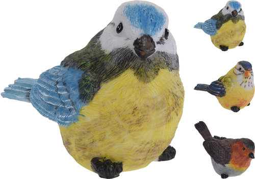 Bird Polystone Assorted 12cm