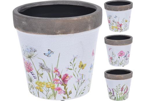 Floral Design Pot