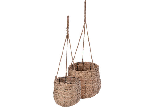 Seagrass Basket With Rope