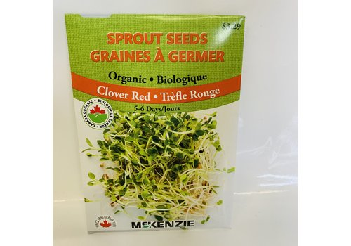 McKenzie Sprouts Clover Red Organic