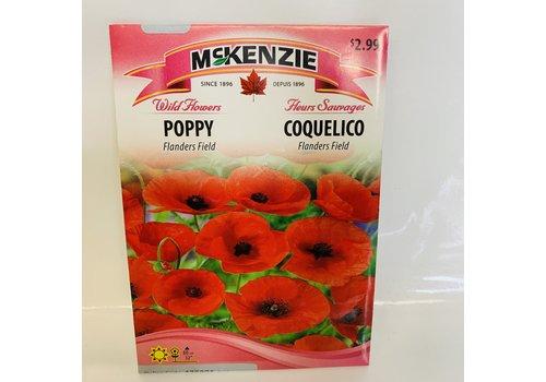 McKenzie Poppy Flanders Field
