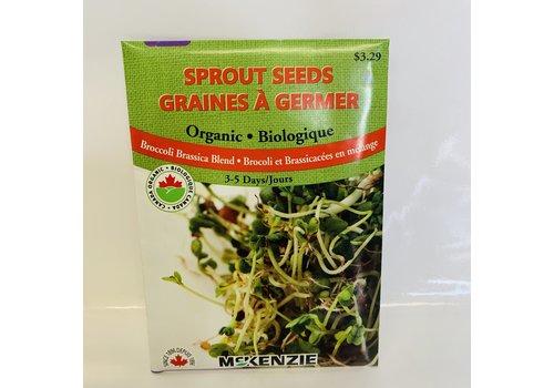 McKenzie Sprouts BrocBrassica Blend Organic