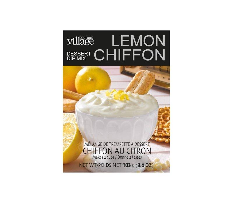 Dip Recipe Card Box Lemon Chiffon