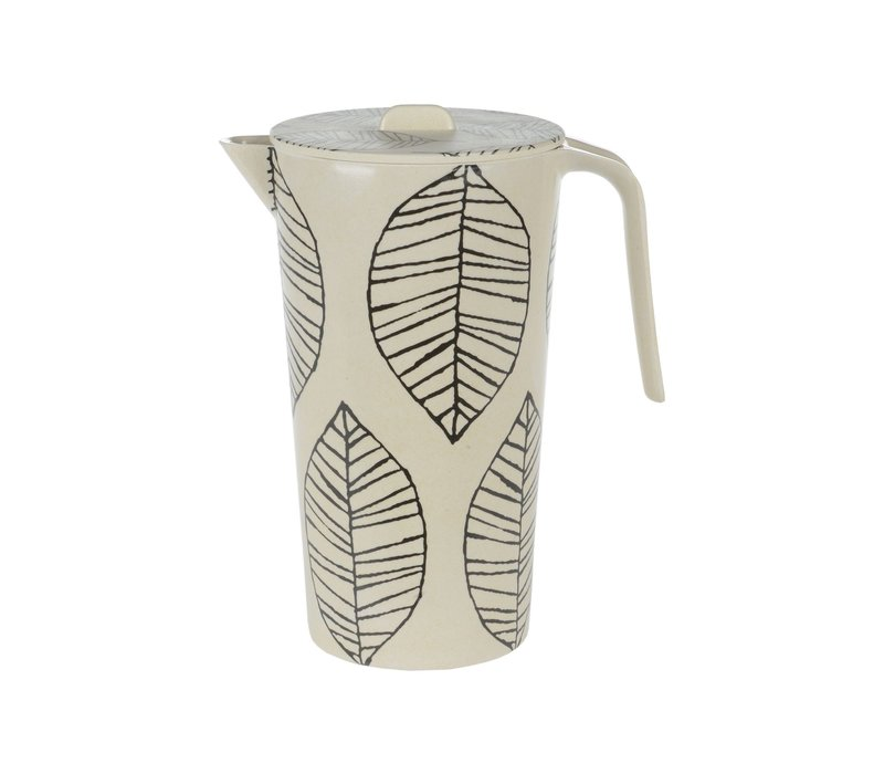 Bamboo Leaf Pitcher