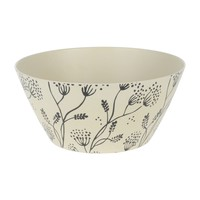 Bamboo Leaf Serving Bowl