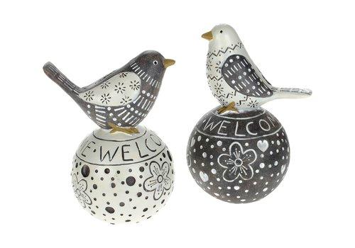 Bird On Welcome Ball