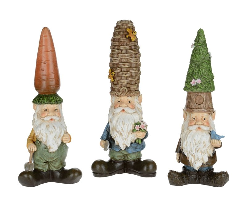 """Gnome With Odd Hat 11""""x7.5"""""""