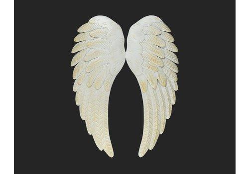 "White Wings Wall Art 23.5"""
