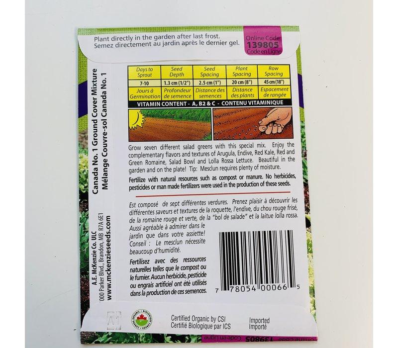 Mesclun Gourmet Greens Mix Organic