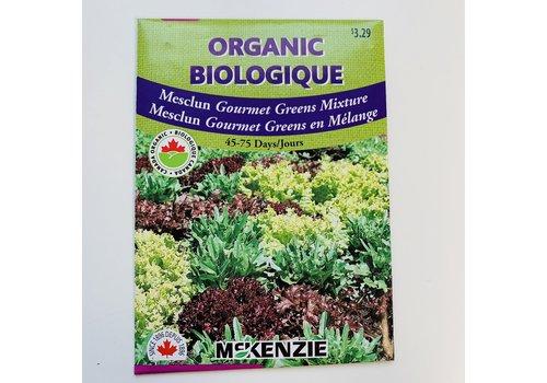 McKenzie Mesclun Gourmet Greens Mix Organic