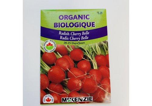 McKenzie Radish Cherry Belle Organic