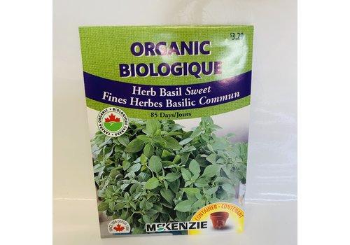 McKenzie Herb Basil Sweet Organic
