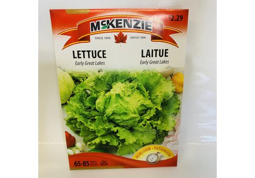 McKenzie Lettuce Early Great Lakes 118