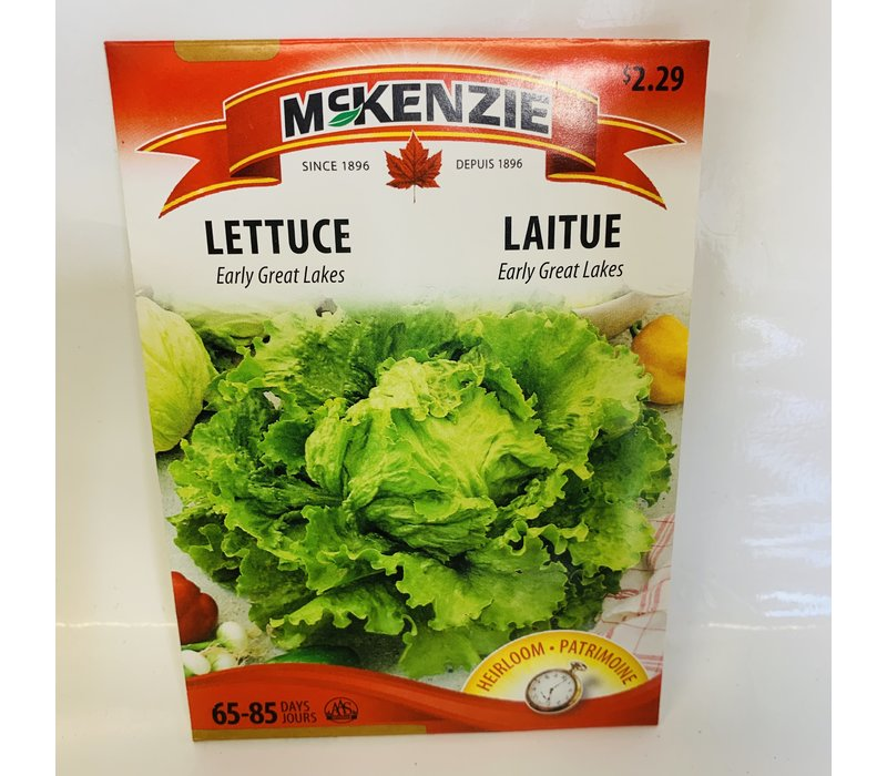 Lettuce Early Great Lakes 118