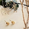 Pika & Bear Cylin Minimalistic Stud Earrings