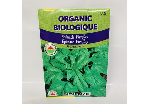McKenzie Spinach Viroflay Organic