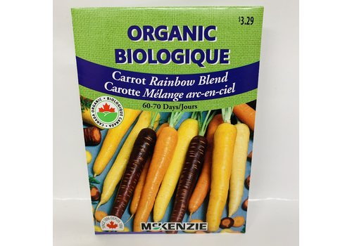 McKenzie Carrot Rainbow Mix Organic