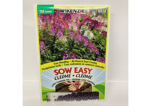 McKenzie Cleome Color Fountain Mix SE