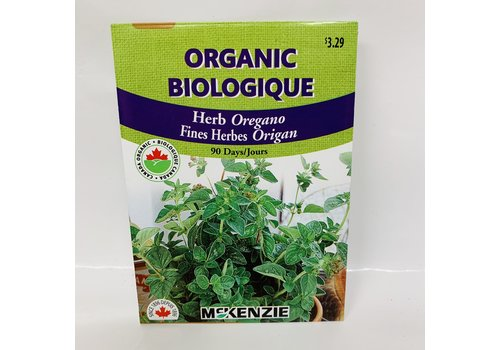 McKenzie Herb Oregano Organic