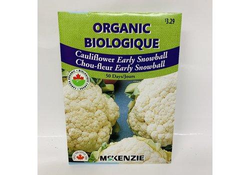 McKenzie Cauliflower Early Snowball Organic