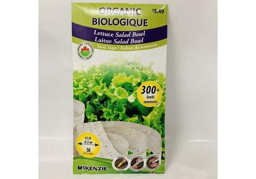 McKenzie Lettuce Salad Bowl ST Organic