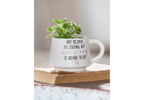 Not To Spoil The Ending Ceramic Cup 12oz