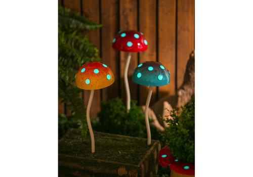 Glow In The Dark Mushroom Plant Pick
