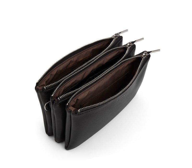 Triplet Loom Crossbody Bag