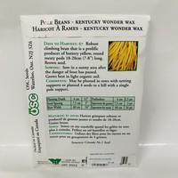Beans Pole Kent Wonder Wax