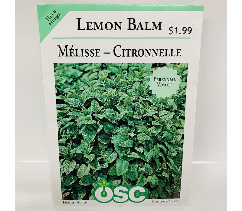 Herbs Balm Lemon