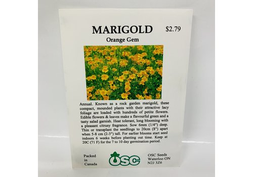 OSC Marigold Orange Gem