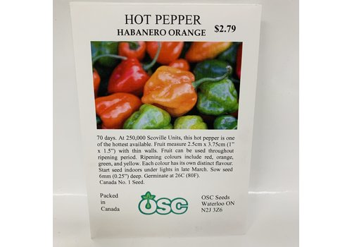 OSC Peppers Habanero Orange