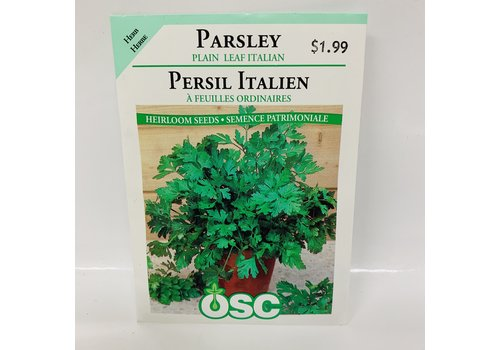 OSC Herbs Parsley Italian Plain