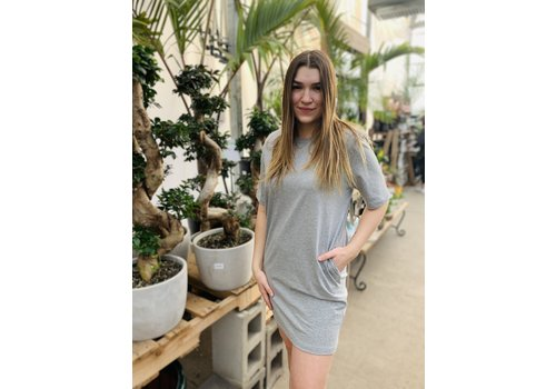 RD Style Shoulder Padded T-Shirt Dress