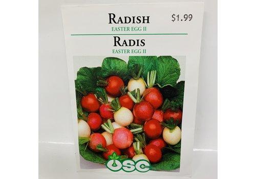 OSC Radish Easter Egg
