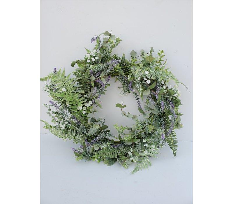 "Dill Lavender Wreath 24"""