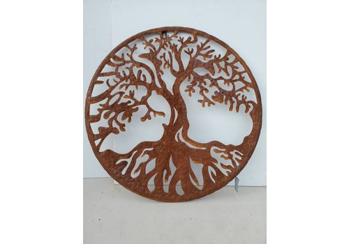 Glenhaven Home & Holiday Oak Tree of Life Wall Decor 21""
