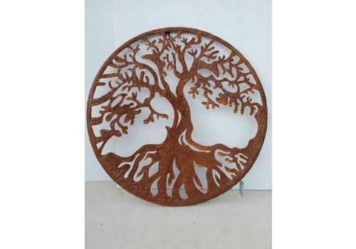 """Glenhaven Home & Holiday Oak Tree of Life Wall Decor 21"""""""