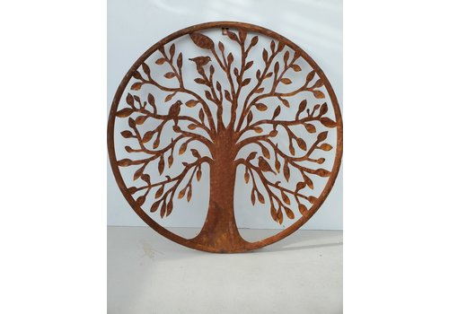 Glenhaven Home & Holiday Elm Tree of Life Wall Decor 21""
