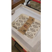 Bamboo Leaf Rectangle Serving Tray