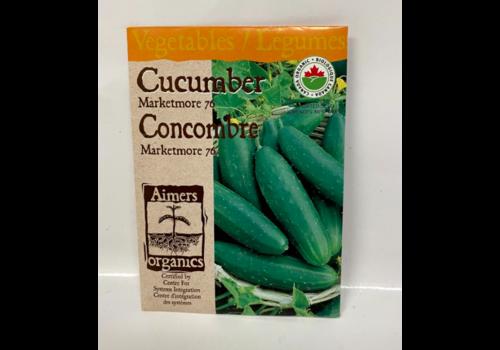 Aimers Organic Organic Cucumber Marketmore