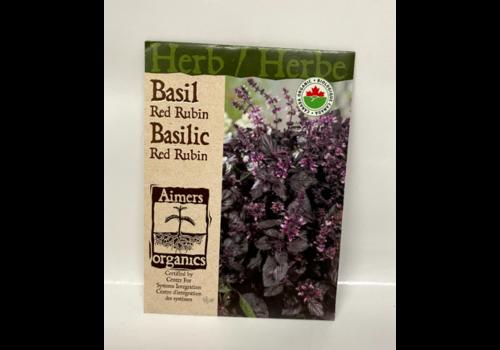 Aimers Organic Organic Herb Red Rubin Basil