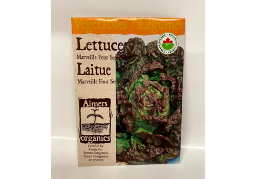 Aimers Organic Organic Lettuce Marveille Four Seasons