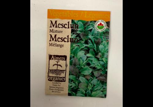 Aimers Organic Organic Mesclun Mesclun Mixture