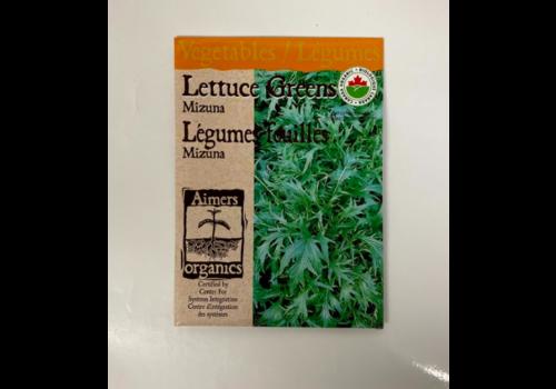 Aimers Organic Organic Lettuce Greens Mizuna