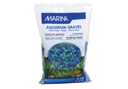 Marina Betta Gravel Tri Color Blue 500g