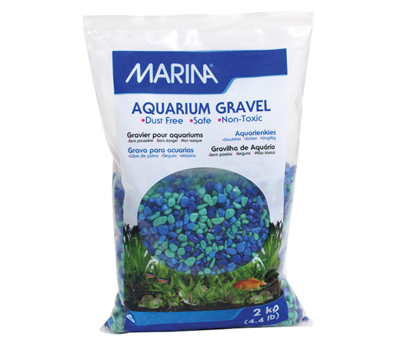 Betta Gravel Tri Color Blue 500g