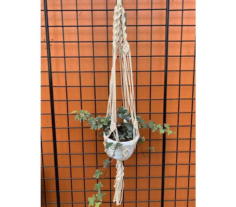 Woven Knotty Plant Hanger 42""