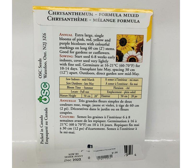 Chrysanthemum Formula Mixed